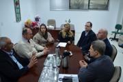 Vereadores de Criciúma se reúnem com reitoria da Unesc
