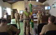 Novo comandante e novos PMs para Siderópolis