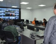 Inauguração do Cigerd de Florianópolis é acompanhada por videoconferência