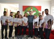 Carnevale di Venezia visita Secretaria de Articulação Nacional