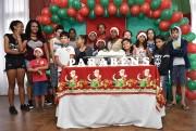 CRAS de Siderópolis encerra atividades de 2018 com festa