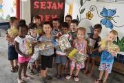 Creches de Siderópolis começam a receber mais de 400 kits arrecadados