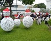 Fontana promove chegada do Papai Noel de helicóptero