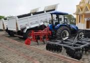 Siderópolis adquire  equipamentos para a agricultura