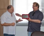 Governo de Siderópolis homenageia Padre Miro