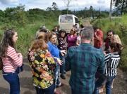 Professores visitam patrimônios culturais durante minicurso