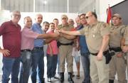 Prefeitura de Balneário Rincão doa veículo para Polícia Militar