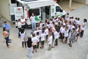 Escolas municipais de Siderópolis fazem visita ao Cidasc