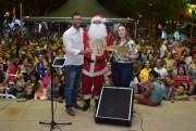 Papai Noel traz encanto e alegria ao Brilho de Natal de Siderópolis