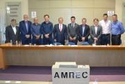 Nova diretoria executiva da AMREC é empossada