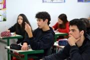 Colégio Unesc representa a região em projeto parlamentar