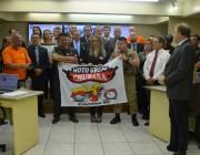 Grupo de motociclistas é lembrado em Moção de Aplauso