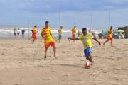 Final de semana com sol e muitos gols nas areias de Rincão