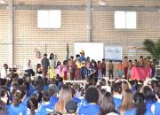 Escola promove encontro com Índios da Aldeia Nhu Porã, de Torres