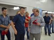 Governo faz homenagem aos PMs que estão deixando Siderópolis