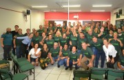 Líderes comunitários vestem a camisa da Unesc