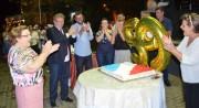 Siderópolis comemora 59 anos com festa e distribuição na praça
