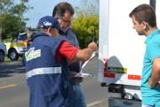 Programa Com Nota Fiscal Vai Legal realiza Blitz em Forquilhinha