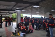Brigada de Emergência da Unesc realiza simulado no campus