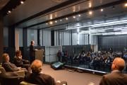 Prefeito de Joinville destaca planejamento e união em palestra