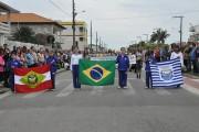 Desfile da Independência em Rincão apresenta o crescimento da cidade