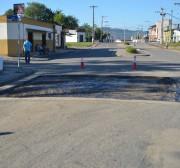 Inicia operação tapa-buracos nas ruas pavimentadas de Siderópolis