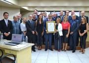 Curso de Direito da Unesc recebe homenagem na Câmara