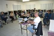 Agentes de saúde de Jacinto Machado recebem treinamento