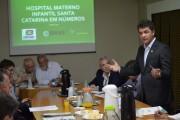 Hospital Santa Catarina é pauta na reunião dos prefeitos