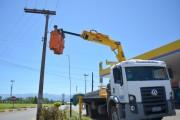 Siderópolis inicia substituição de lâmpadas comuns por LED