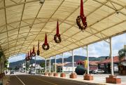 Decoração do Natal Encantado de Jacinto Machado já ganha às ruas