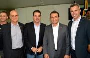 Deputado Minotto acompanha agenda do Governador em Criciúma