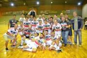 Siderópolis é bicampeão do Regional da LAC Futsal