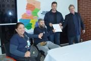 Ordem de serviço para obras de acessibilidade na AMREC é assinada