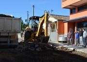 Rua Vanteiro Margotti recebe recuperação em Morro da Fumaça