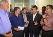 Reunião garante três milhões para custeio do HISC