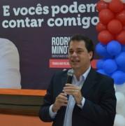 Deputado Rodrigo Minotto reúne lideranças de todo o Estado
