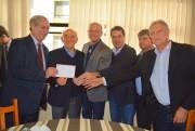 Ciro Gomes, Manoel e Minotto abonam filiação de Guinga no PDT