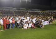 Mais de 4 mil pessoas, 3 toneladas e um show de solidariedade