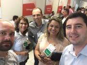 Dalvania e vereadores participam de seminário em São José
