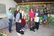 Decoração evidencia a história do vinho em Urussanga