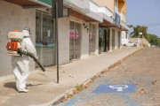Trabalhos de dedetização continuam na área central de Içara