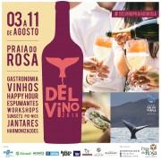 Harmonização entre restaurantes da Praia do Rosa e vinícolas nacionais e internacionais