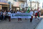 Urussanga celebra a Pátria com desfile na Praça Anita Garibaldi