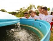 Dia da Água: Fundai e Coopafi, alunos conhecem nascente em Içara