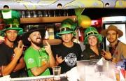 Didge BC comemora St. Patricks Day com chopp verde de cortesia