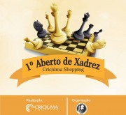 Março terá campeonato de xadrez no Criciúma Shopping