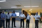 Movimento Juntos de Coração e Canguru doam mil aventais ao Hospital São José