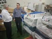 Hospital São José recebe equipamentos para nova estrutura