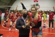 Vôlei feminino da S.R. Mampituba é Campeão Catarinense Sub-20